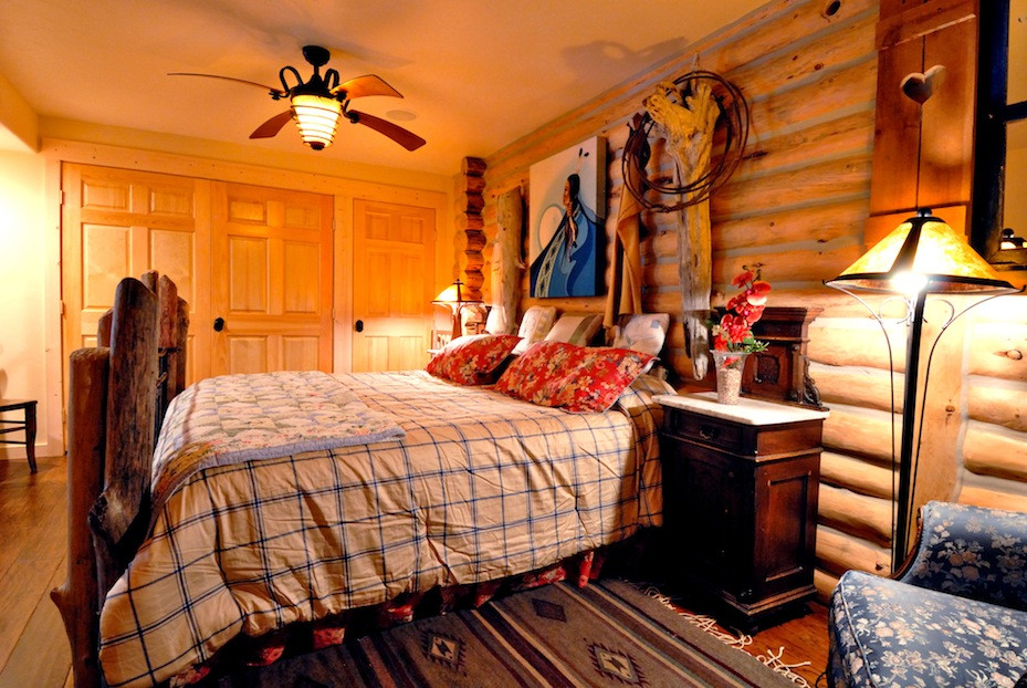 The Log Cabin Suite at Swan River Inn in Bigfork Montana