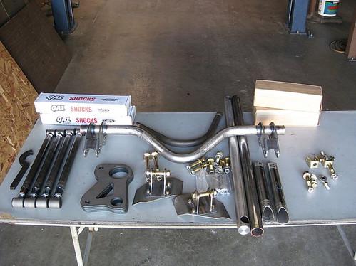 Custom Rear Suspension kit