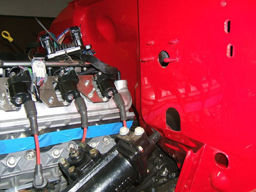 Firewall kit and Steering Box
