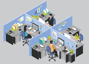 Design Safer Offices in a COVID-19 World