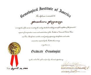 GG certificate