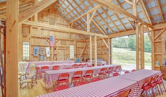 Inside the Hidden Pine Barn