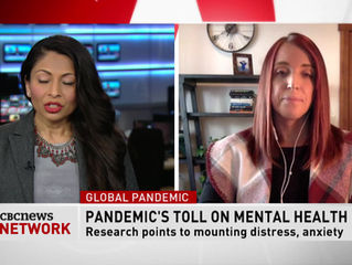 The Mental Toll of Covid-19: Interview with CBC News Network