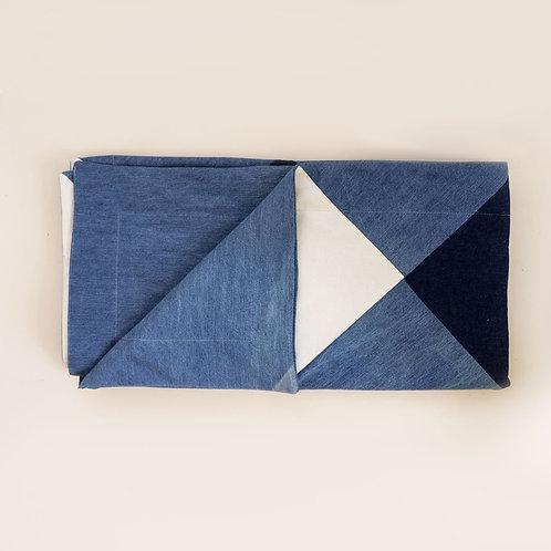 Denim Picnic Blanket by Storyteller Studio