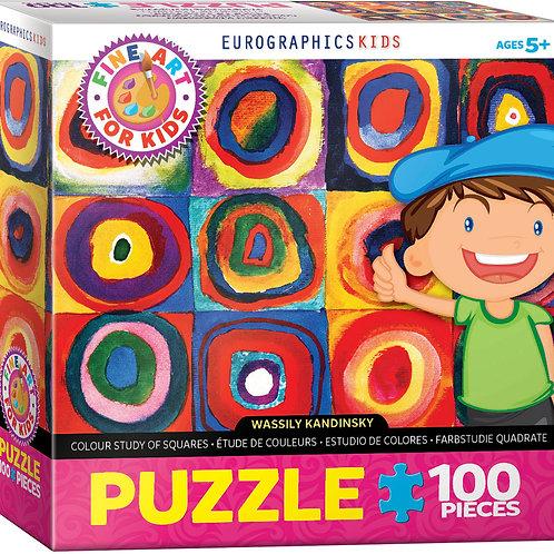 Fine Art 100 Piece Jigsaw Puzzle