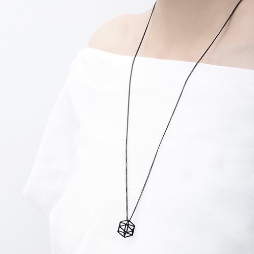 Hexagon Necklace by Pursuits Jewelry