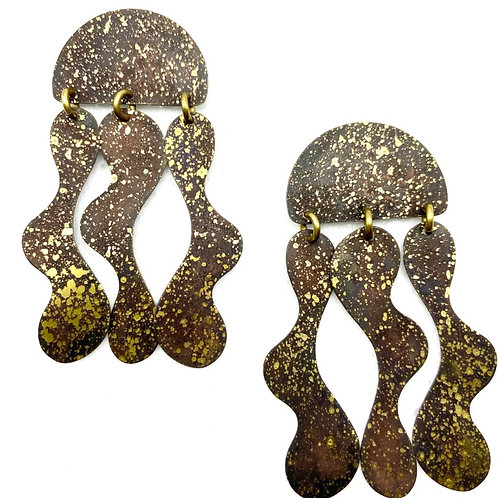 Aguaviva Earrings by Sibilia