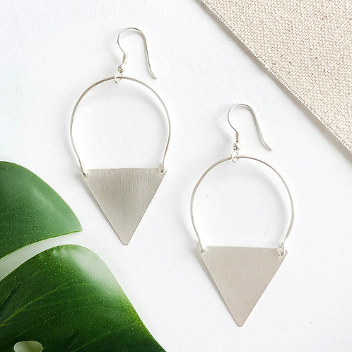 Peaked Sphere Earrings by WorldFinds