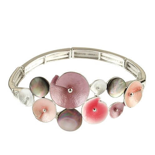 Flower Combi Bracelet by Origin Jewelry