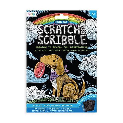 Mini Scratch & Scribble Kit
