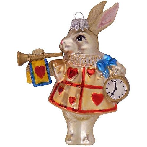 Wonderland Rabbit Ornament