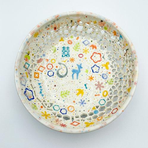 Princess Fruit Bowl by Masa Sasaki Ceramics