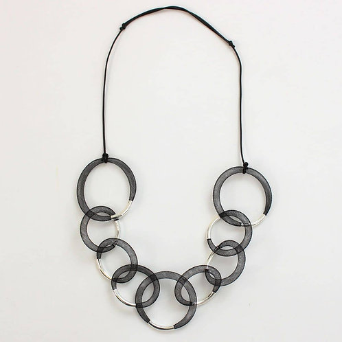 Mesh Statement Necklace by Sylca Designs
