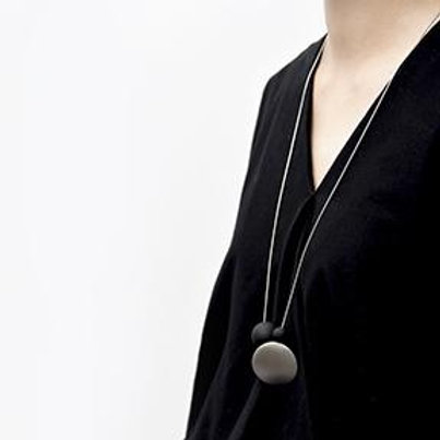 Dot & Orb Necklace by Pursuits Jewelry