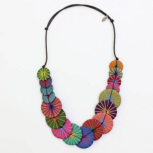 Multi Azalea Necklace by Sylca Designs
