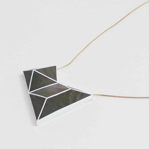 Geometric Cadence Necklace by Sylca Designs