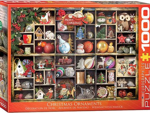 Christmas Ornaments Puzzle- 1000 Piece