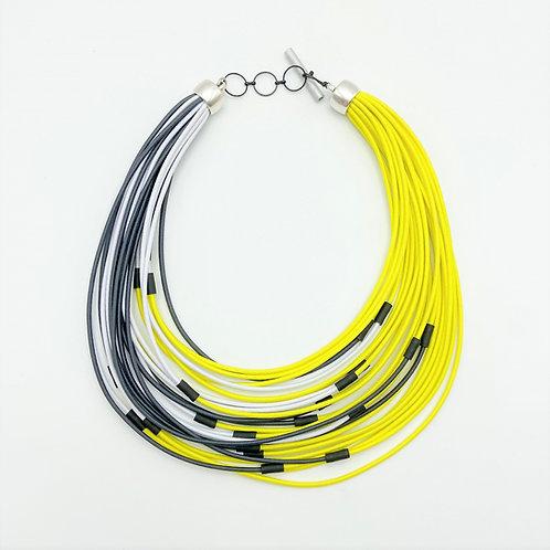 24 Strands Necklace by Christina Brampti