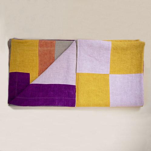 Linen Picnic Blanket by Storyteller Studio