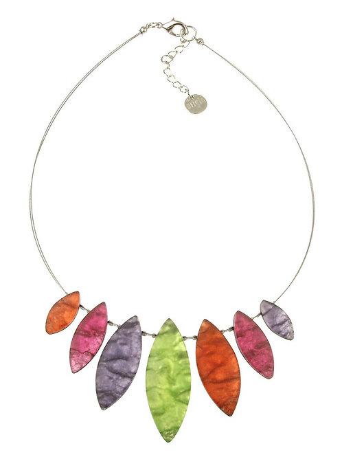 Tribal Leaf Necklace by Origin Jewelry
