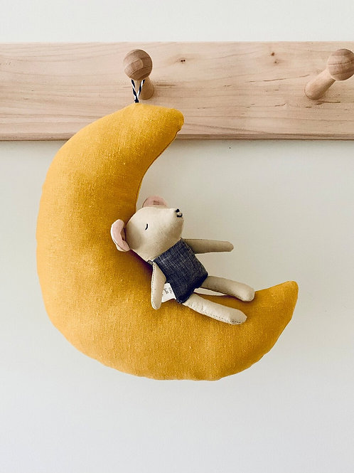 Mouse on the Moon by Lille Folk Shop