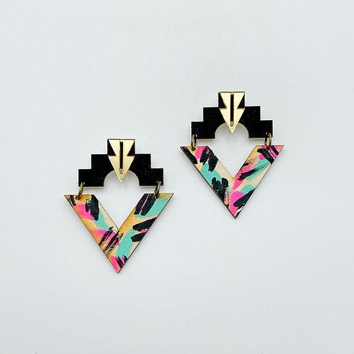Honey/Fuze Earrings by Charisma Eclectic