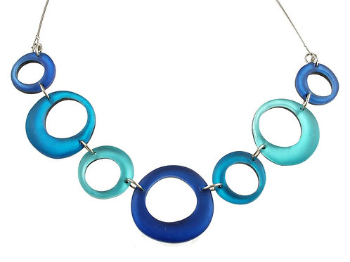 Hollow Circles Necklace by Origin Jewelry