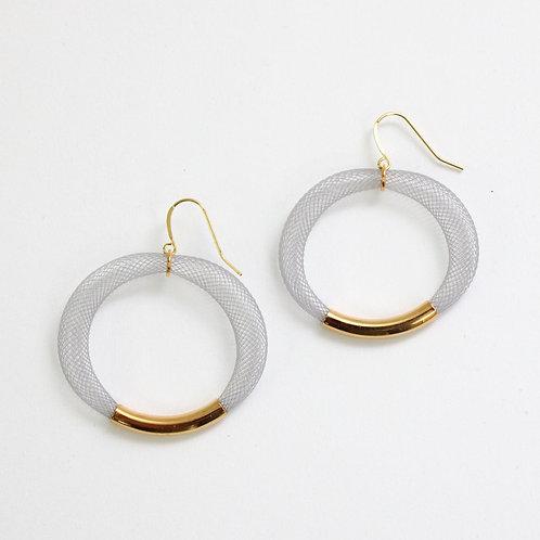 Mesh Hoop Earrings by Sylca Designs