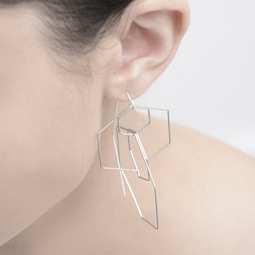 Hex Earrings by Pursuits Jewelry