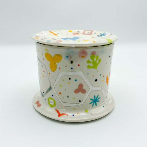 Princess Butter Keeper by Masa Sasaki Ceramics