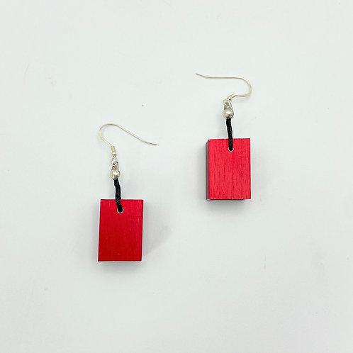 Cube Earring by Christina Brampti