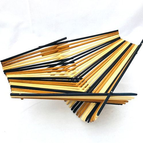 Chopstick Art Folding Basket Large