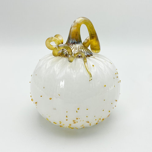 Small Blown Glass Pumpkin by Whitney Olsen