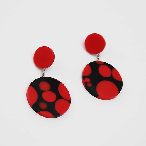 Dot Earrings by Sylca Designs