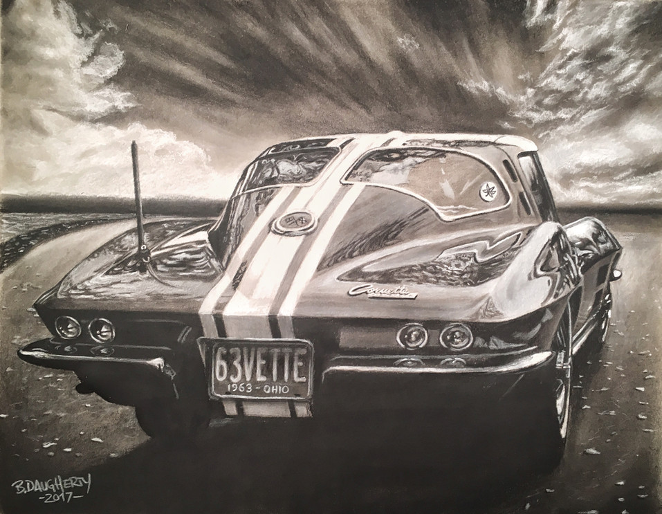 63 Split Window Corvette
