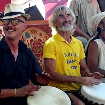 Drumcircle - mit Bernardo Juni