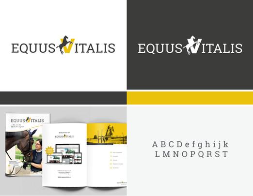 Corporate Design für den EquusVitalis Onlineshop