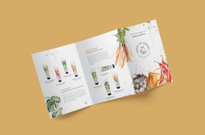 Brochure für Hands On Veggies