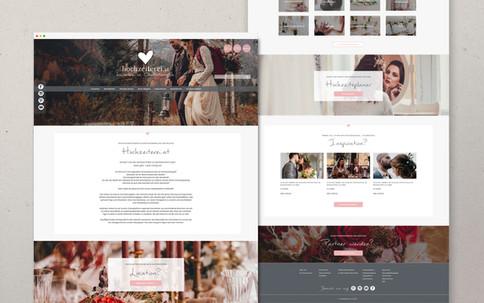 Screendesign für Hochzeiterei.at