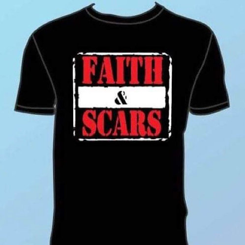 Faith Is War T-Shirt (Wrestling)