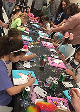 Canvas painting parties in Kingwood