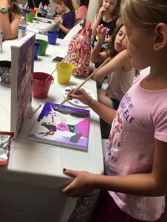 art camps in kingwood