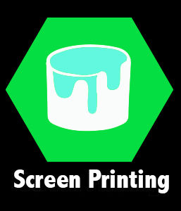 Screen printing in Denver