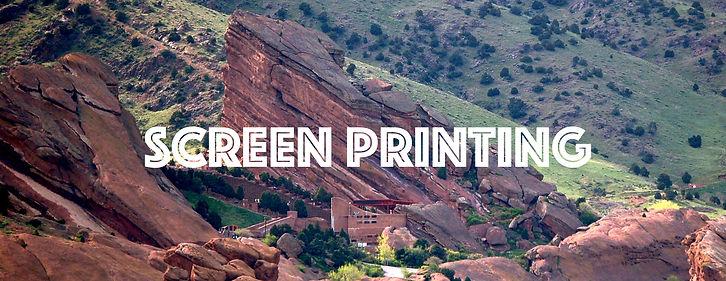 Custom t-shirts Screen printing in Denver