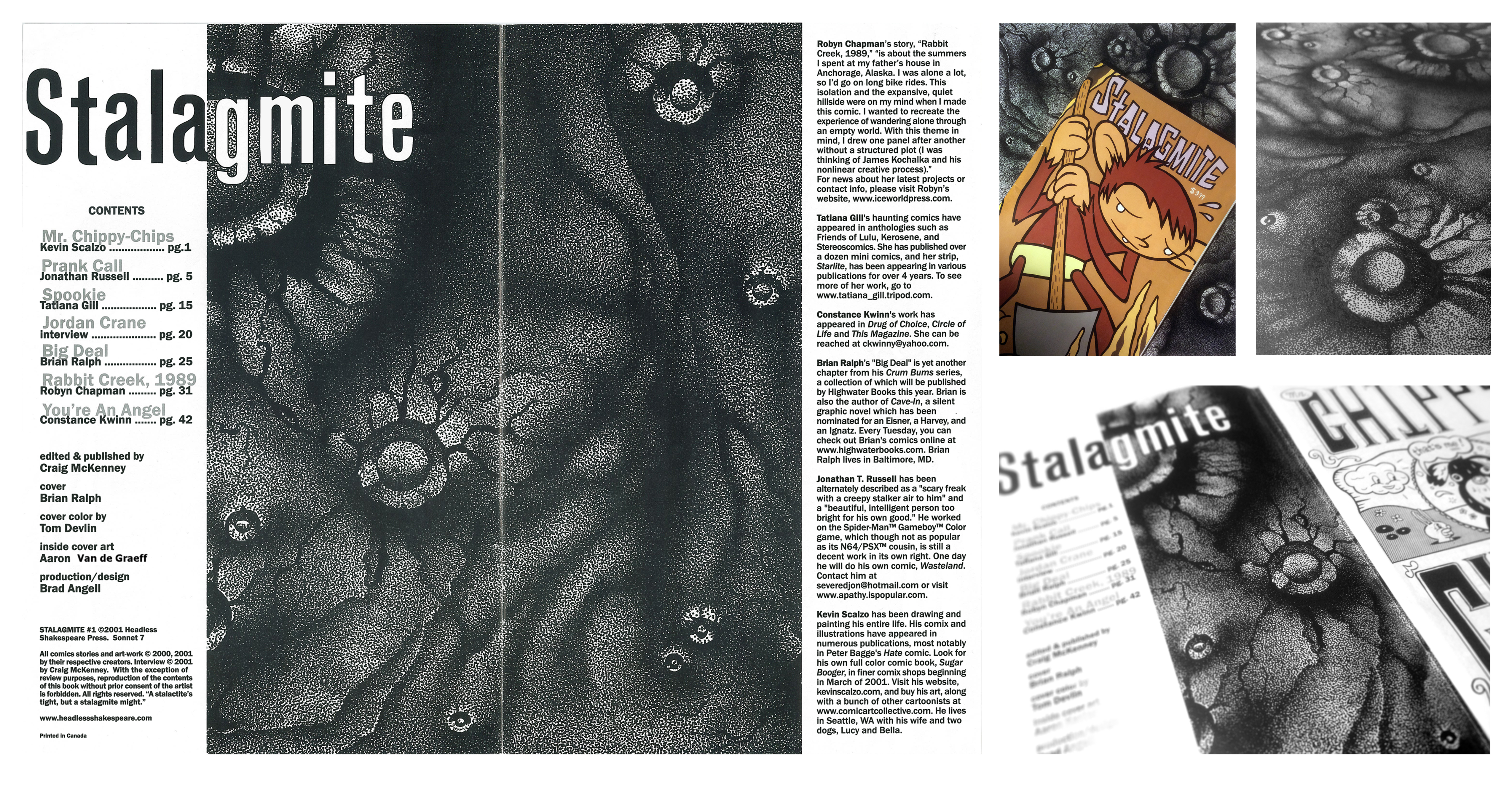 Stalagmite Comic Book