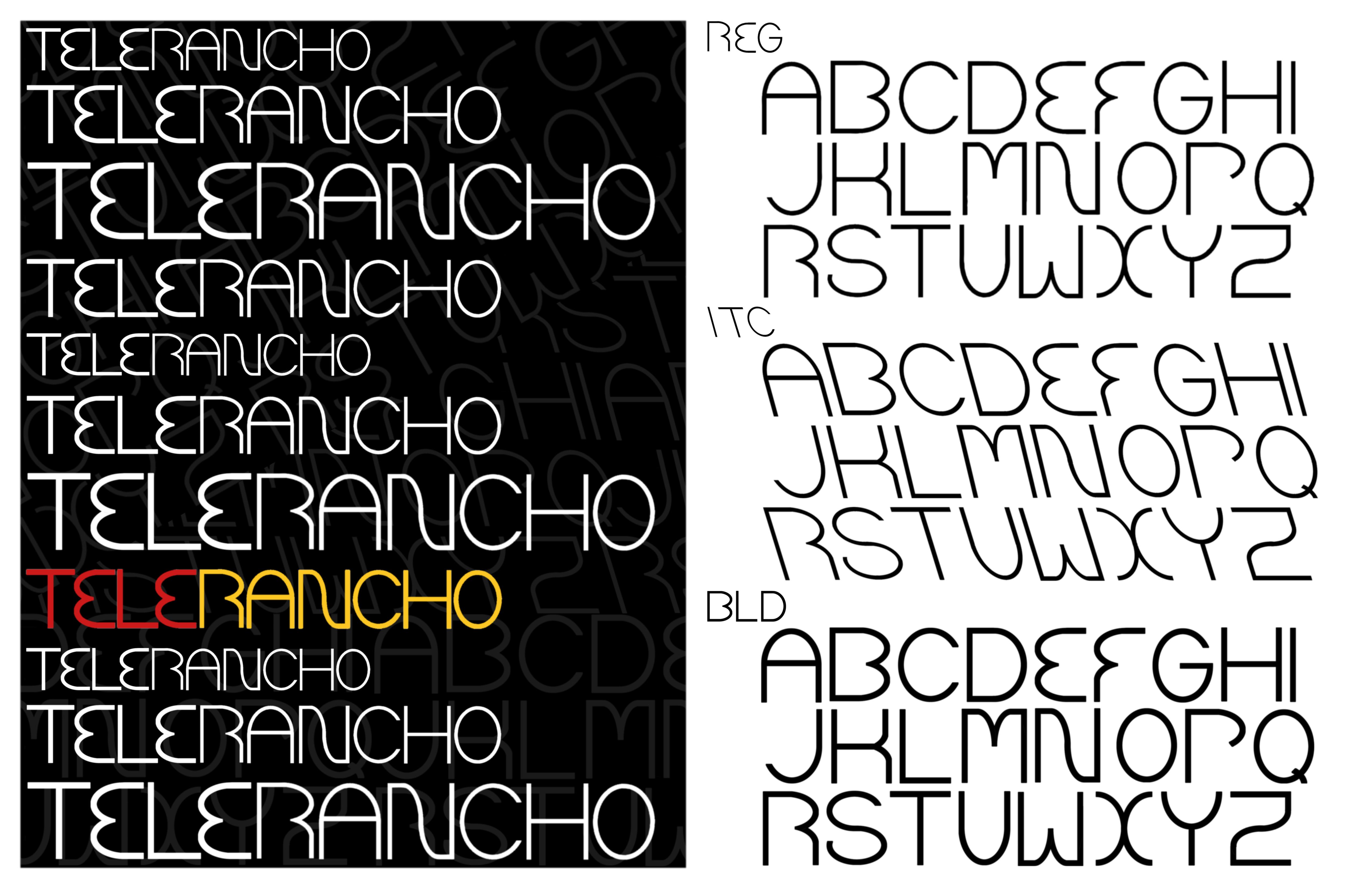 Tele Rancho Type Specimen