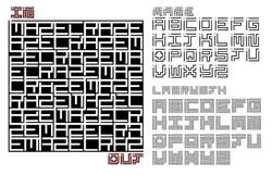 Maze Type Specimen