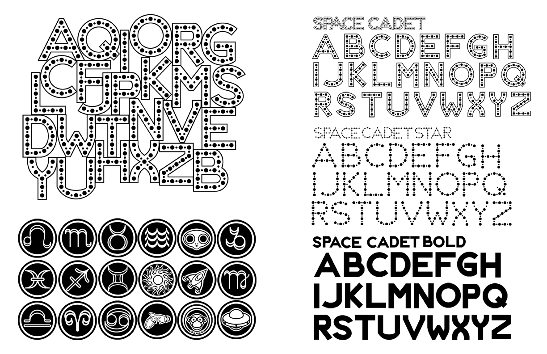 Space Cadet Type Specimen