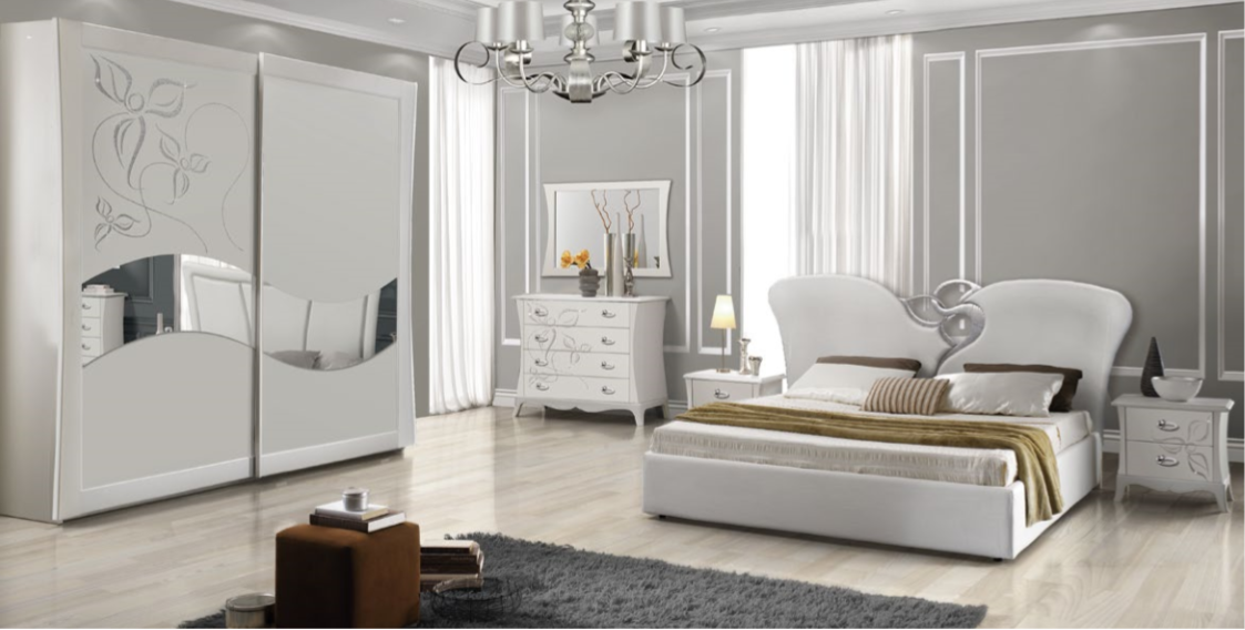 Camera da letto moderna/contemporanea - 10