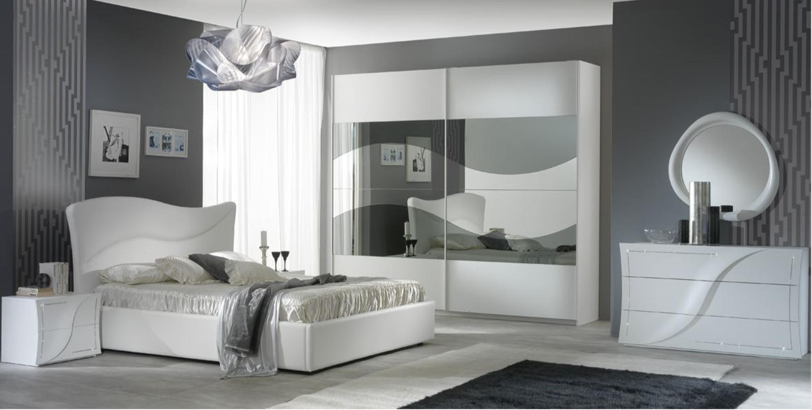 Camera da letto moderna/contemporanea - 1